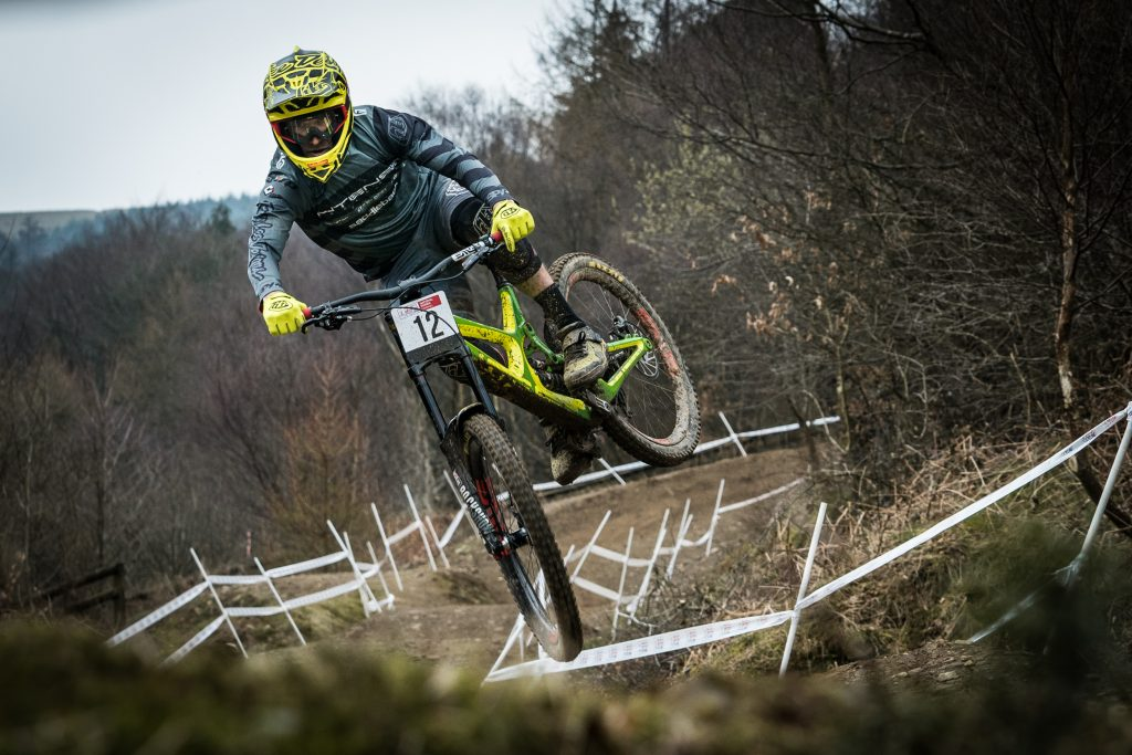 ProRide mtb DH SPEED COURSE CWMCARN 19th january 2019
